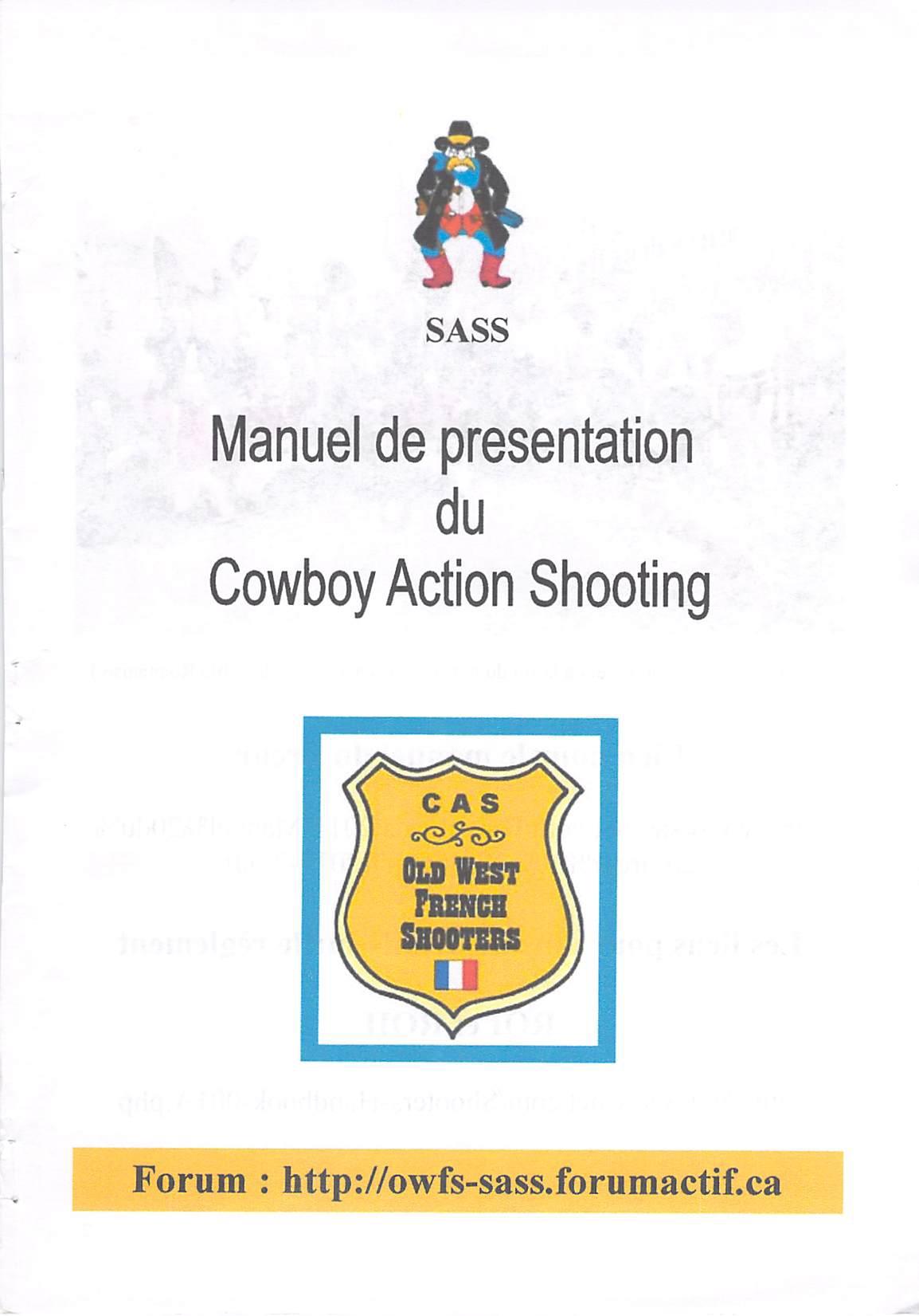 CAS manuel de presentation SASS0001