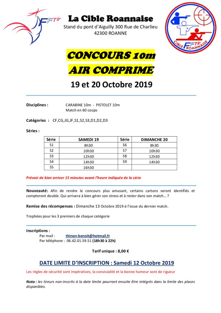 thumbnail of affiche concours CR 2019